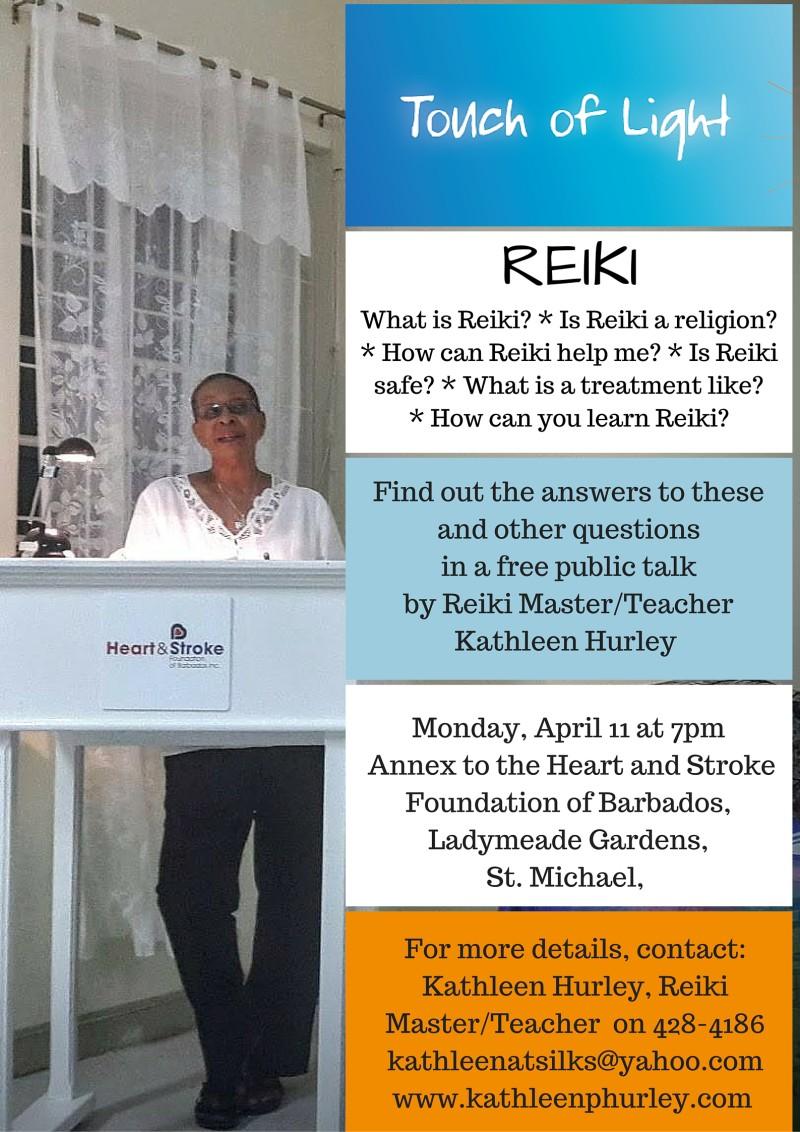 Reiki talk poster2